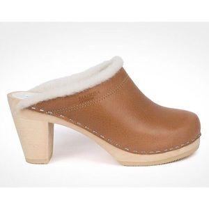 Maguba of Sweden Wooden Clog Heels